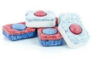 Kostki do zmywania naczyń